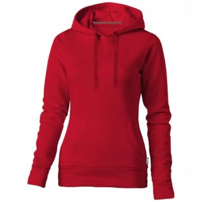 Alley Kapuzensweater für Damen, rot, M