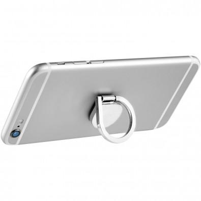 Aluminium-Ring  Telefonhalterung, silber