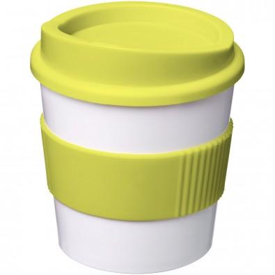 Americano® Primo 250 ml Becher mit Schutzring, weiss,limone