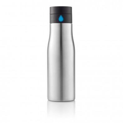 Aqua Auslaufsichere Hydration Flasche, grau,blau