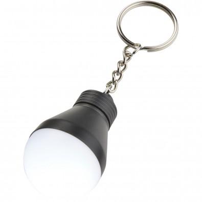Aquila LED-Schlüssellicht, schwarz glänzend,weiss