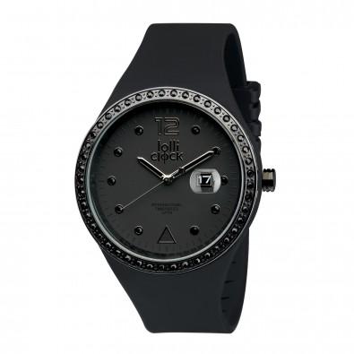 Armbanduhr LOLLICLOCK-EVOLUTION BLACK CRYSTAL