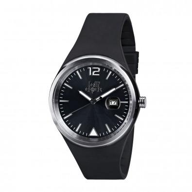 Armbanduhr LOLLICLOCK-EVOLUTION DATE, schwarz