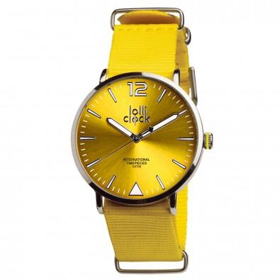 Armbanduhr LOLLICLOCK-FASHION, gelb