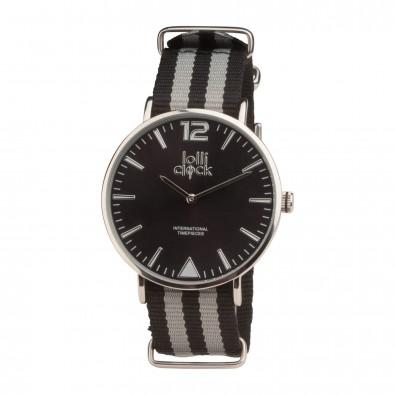 Armbanduhr LOLLICLOCK-FORTYTWO, schwarz