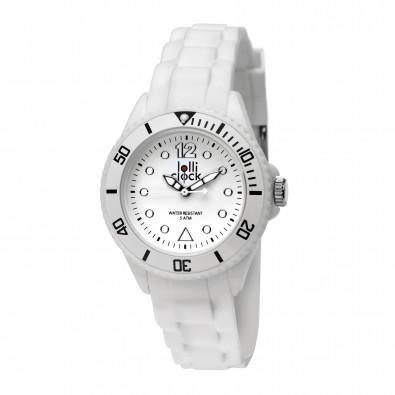 Armbanduhr LOLLICLOCK-SMALL, weiß