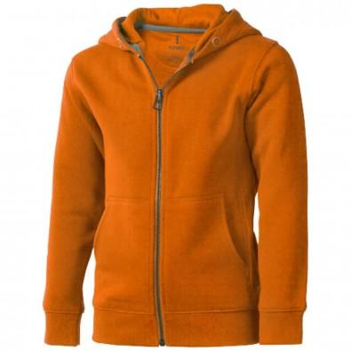 Arora Kapuzensweatjacke für Kinder, orange, 104