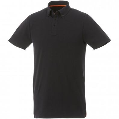 ELEVATE Herren Poloshirt Atkinson, schwarz, XXXL