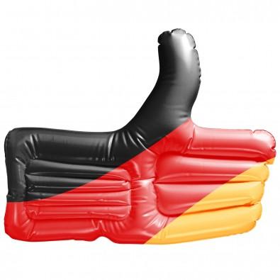 Aufblasbarer Daumen Deutschland