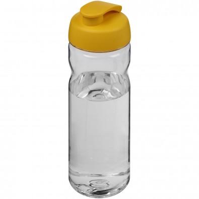 Base Tritan™ 650 ml Sportflasche mit Klappdeckel, transparent,gelb
