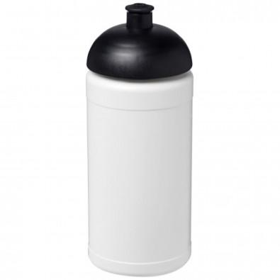 Baseline® Plus 500 ml Sportflasche mit Stülpdeckel, weiss,schwarz