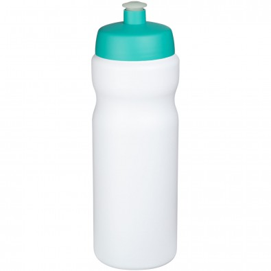 Baseline® Plus 650 ml Sportflasche, weiss,aquablau