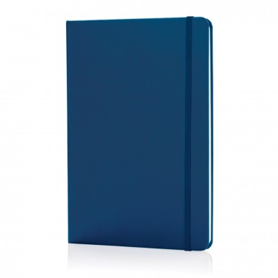 Basic Hardcover Notizbuch DIN A5, blau