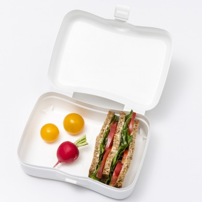 BASIC Lunchbox, cotton white