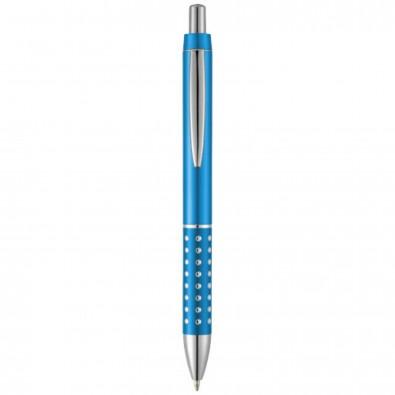 Bling Kugelschreiber, blaue Mine, hellblau