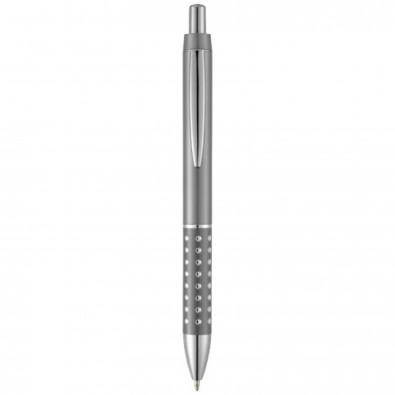 Bling Kugelschreiber, schwarze Mine, gun metal