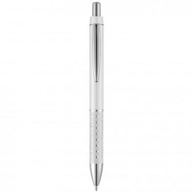 Bling Kugelschreiber, schwarze Mine, weiß