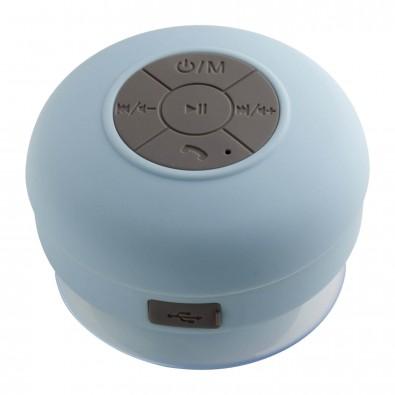 Bluetooth® Duschlautsprecher mit Radio AVIGNON hellblau