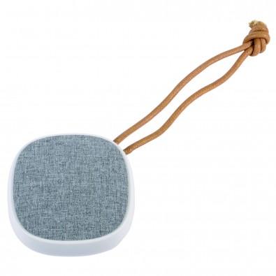 Bluetooth-Lautsprecher Strap, weiß-grau