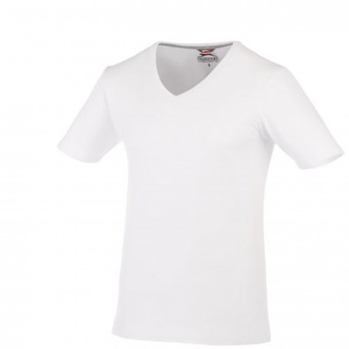 Bosey – T-Shirt mit V-Ausschnitt für Herren, weiss, XXXL