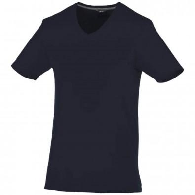 Bosey – T-Shirt mit V-Ausschnitt für Herren, navy, XS