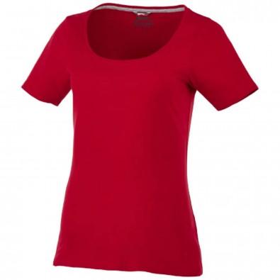 Shirt T Weitem Dunkelrot Xl Mit Für Bosey Damen Rundhalsausschnitt A4HqWx