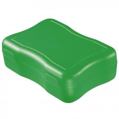 Brotzeitdose Wave, groß, standard-grün