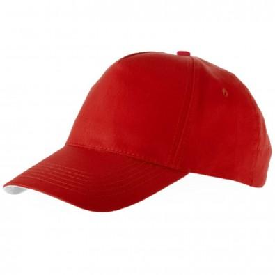 Brunswick Kappe mit 5 Segmenten, rot