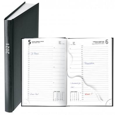 Buchkalender Basic 2020, Schwarz