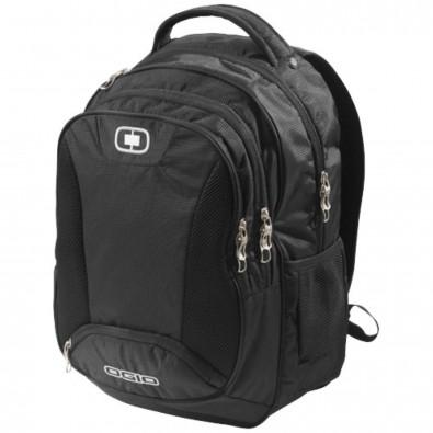 "Bullion 17"" Laptop-Rucksack, schwarz"