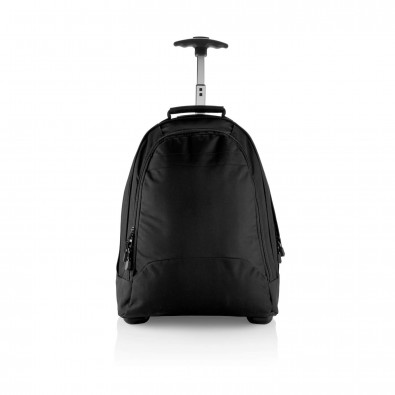 Business Rucksack mit Trolley, schwarz