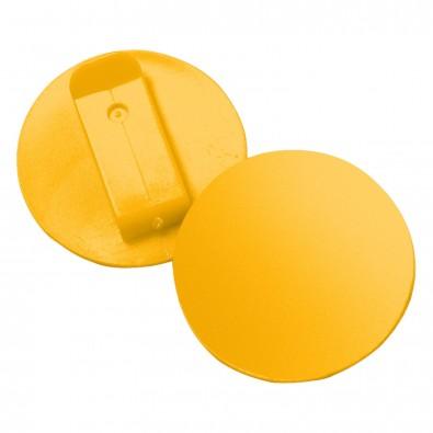 Button Colour-Clip, standard-gelb