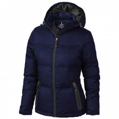 check out f8d2a 77cae Caledon Damen Winter Daunenjacke blau | XS