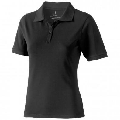 Calgary Poloshirt für Damen, anthrazit, XS