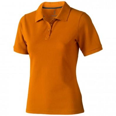 Calgary – Poloshirt für Damen, orange, M