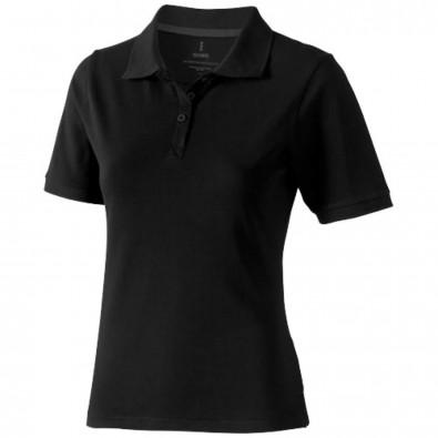 Calgary Poloshirt für Damen, schwarz, S