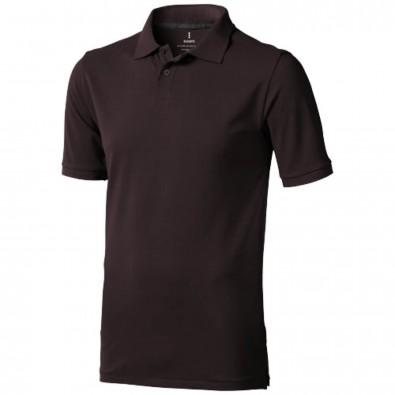 Calgary – Poloshirt für Herren, Chocolate Brown, XS