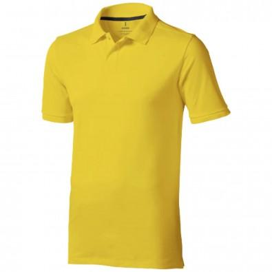 Calgary – Poloshirt für Herren, gelb, XS