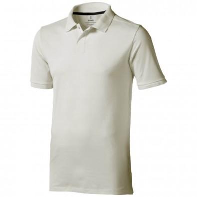 Calgary – Poloshirt für Herren, hellgrau, XXL