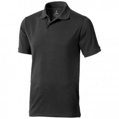 Calgary Poloshirt für Herren, anthrazit, XS