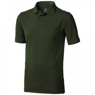 Calgary – Poloshirt für Herren, armeegrün, XS