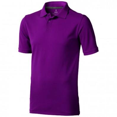 Calgary Poloshirt für Herren, pflaume, XS