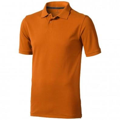 Calgary Poloshirt für Herren, orange, XS