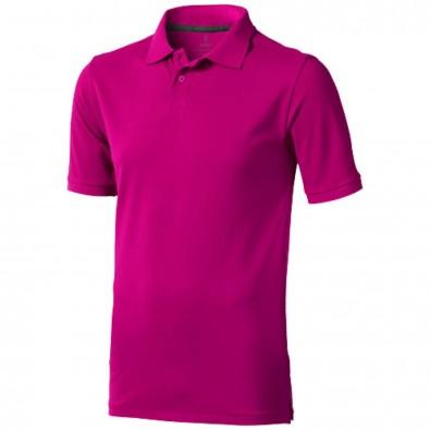 Calgary Poloshirt für Herren, rosa, S