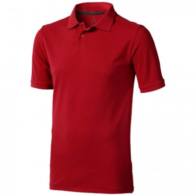 Calgary – Poloshirt für Herren, rot, XS