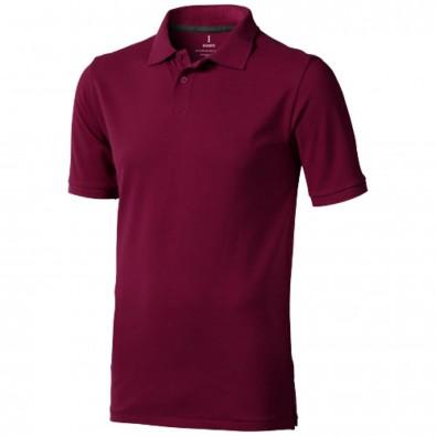 Calgary – Poloshirt für Herren, bordeaux, XS