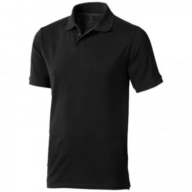 Calgary Poloshirt für Herren, schwarz, XS