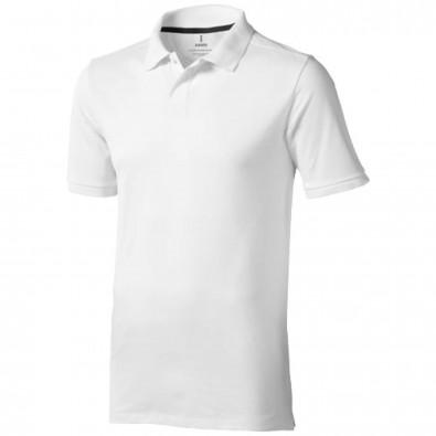 Calgary Poloshirt für Herren, weiss, XS