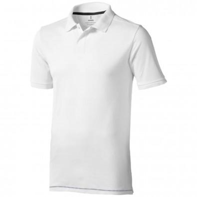 Calgary Poloshirt für Herren, weiss,navy, XS