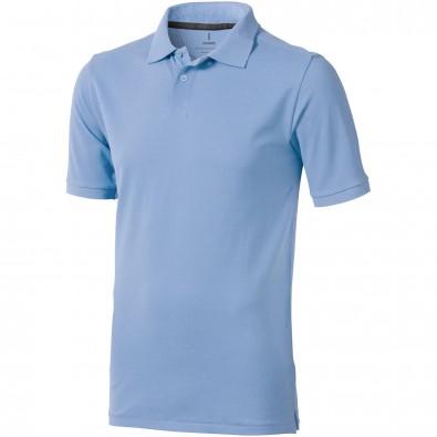 Calgary Poloshirt für Herren, hellblau, XS